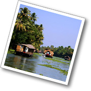 Tranquil backwaters in Sri Lanka