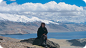 Valerie on trek in Ladakh