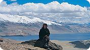 Valerie on trek in Ladakh
