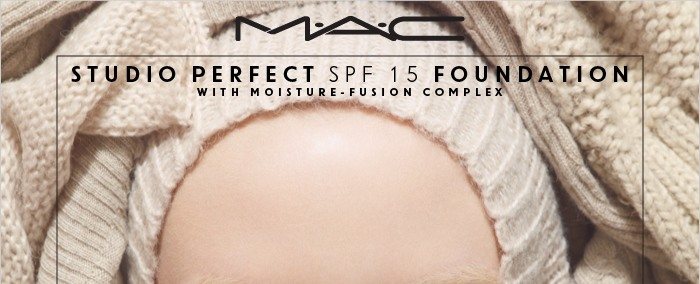 M.A.C STUDIO PERFECT SPF15 FOUNDATION WITH MOISTURE-FUSION COMPLEX
