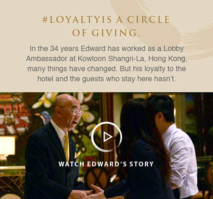 #LoyaltyIs a circle of giving. Watch Edward's story