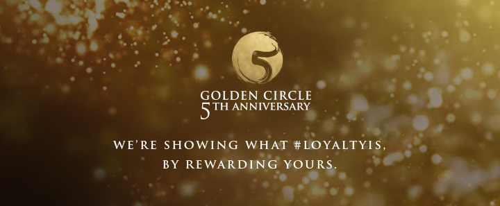 We're showing what #LoyaltyIs, by rewarding yours.