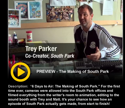 TREY PARKER Co Creator South Park