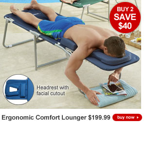 Buy 2, SAVE $40 - Ergonomic Lounger - $199.99 each