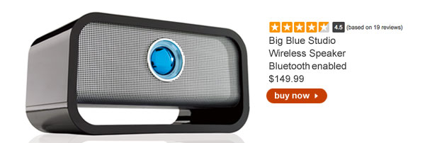 Big Blue Studio Wireless Speaker $149.99