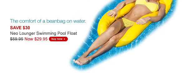 Neo Lounger Swimming Pool Float NOW $29.95