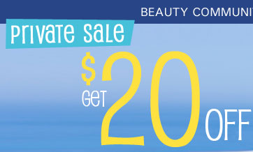 Last chance to save beautifully -- get $20 off your order of $100 or more!*