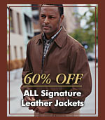 60% OFF - ALL Signature Leather Jackets
