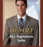 60% OFF - ALL Signature Suits