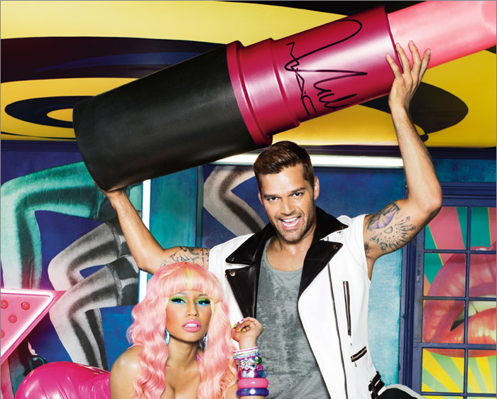 We know Nicki Minaj is your girl, so here's the chance to get exclusive  access to purchase a Viva Glam Nicki Lipstick in a scene-stealing pink  before anyone else!