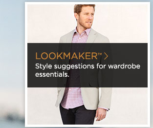 >> LOOKMAKER(TM) Style suggestions for wardrobe essentials