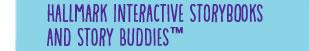 Hallmark Interactive Storybooks and Story Buddies™