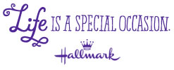 Life is a Special Occasion. Hallmark.