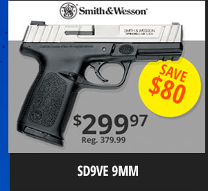 Smith&Wesson SD9VE 9MM