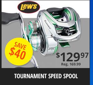 Lew's Tournament Speed Spool Reel