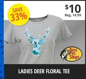 Ladies' Deer Tee