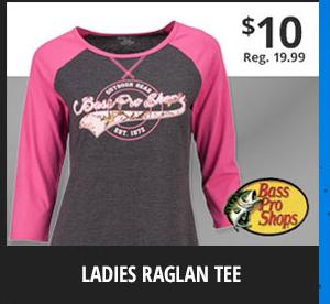 Ladies' Raglan Tee