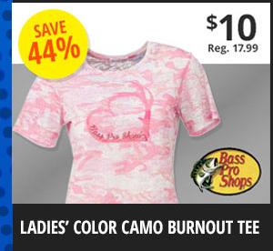 Ladies' Color Camo Tee
