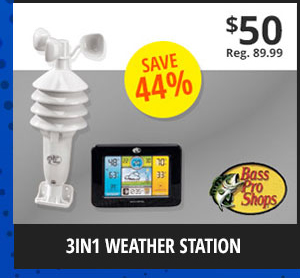 3in1 Weather Station
