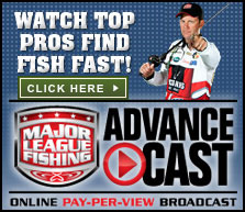 Major League Fishing Advanced Cast Online Pay-Per-View Broadcast