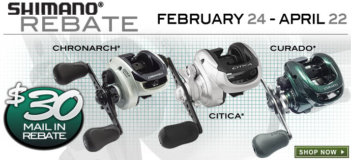 Shimano $30 Mail-In Rebate