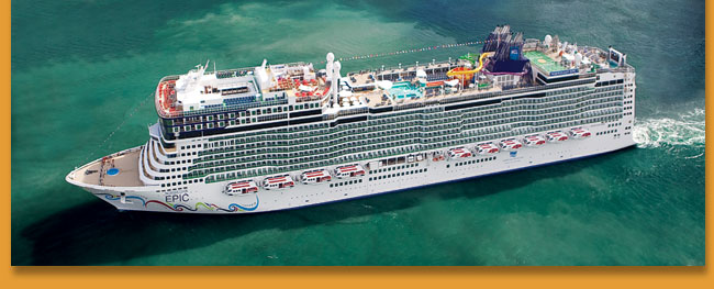 Sail Norwegian Epic in the Caribbean until April 2011 and in Europe Starting May 2011, plus get a Mini-Suite for the price of a Balcony if you book by March 31, 2011.