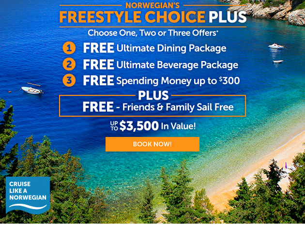Freestyle Choice Plus. Up To $3,500 In Value.