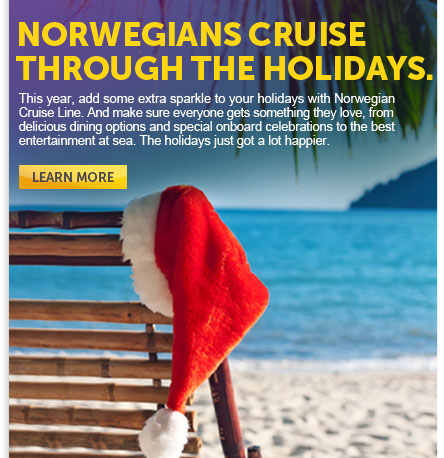 Norwegians Cruise Through The Holidays