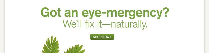 Got an eye-mergency?