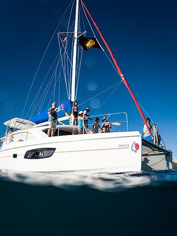Catamaran Mothership