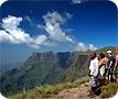 Walking in the Drakenberg Mountains